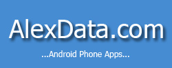AlexData Android Apps Logo